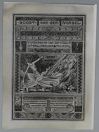 Gijsbrecht van Aemstel (play) - Gijsbrecht van Aemstel (1893 ed.)