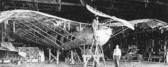 Lyman Gilmore - Gilmore's second, larger airplane