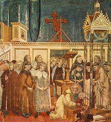 Il presepe di Greccio, nella Basilica superiore di Assisi, Giotto (attribuzione), 230x270 cm, 1290-1295 circa