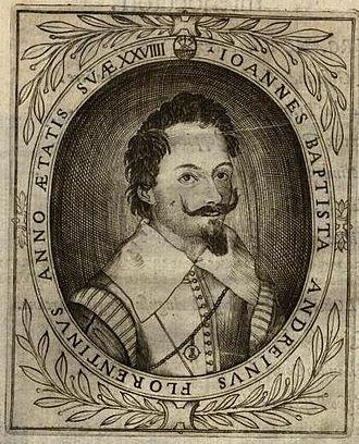 Virginia Ramponi-Andreini - Giambattista Andreini depicted at age 29