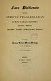 Giovanni Carlo Grech Delicata Flora Melitensis 1853 titelblatt.jpg