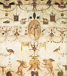 Grottesca wikipedia - Decorazioni grottesche ...