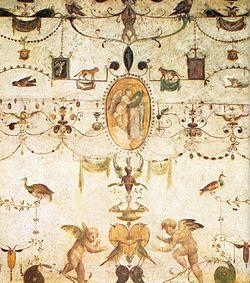 Giovanni da Udine Detalle de las decoraciones de la Loggeta del Cardenal Bibbiena.jpg