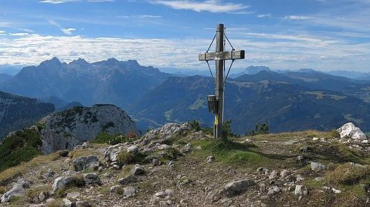 Summit of Großer Weitschartenkopf