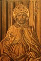 Giuliano da maiano e alesso baldovinetti, tarsie della sagrestia delle messe, 1436-1468, 02 ss. eugenio, zanobi e crescenzio 5.jpg