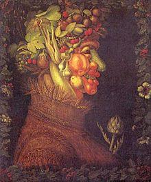 Estate, dipinto di Giuseppe Arcimboldo (Museo del Louvre, Parigi)