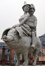 Glücksschwein, Schwetzingen (Quelle: Wikimedia)