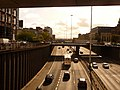 Glasgow, the M8 emerges from under Charing Cross - geograph.org.uk - 1539310.jpg
