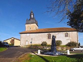 Bastennes - The church of Bastennes