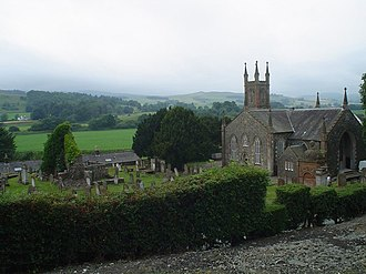 Glencairn, Dumfries and Galloway - Image: Glencairn Parish Church geograph.org.uk 698578