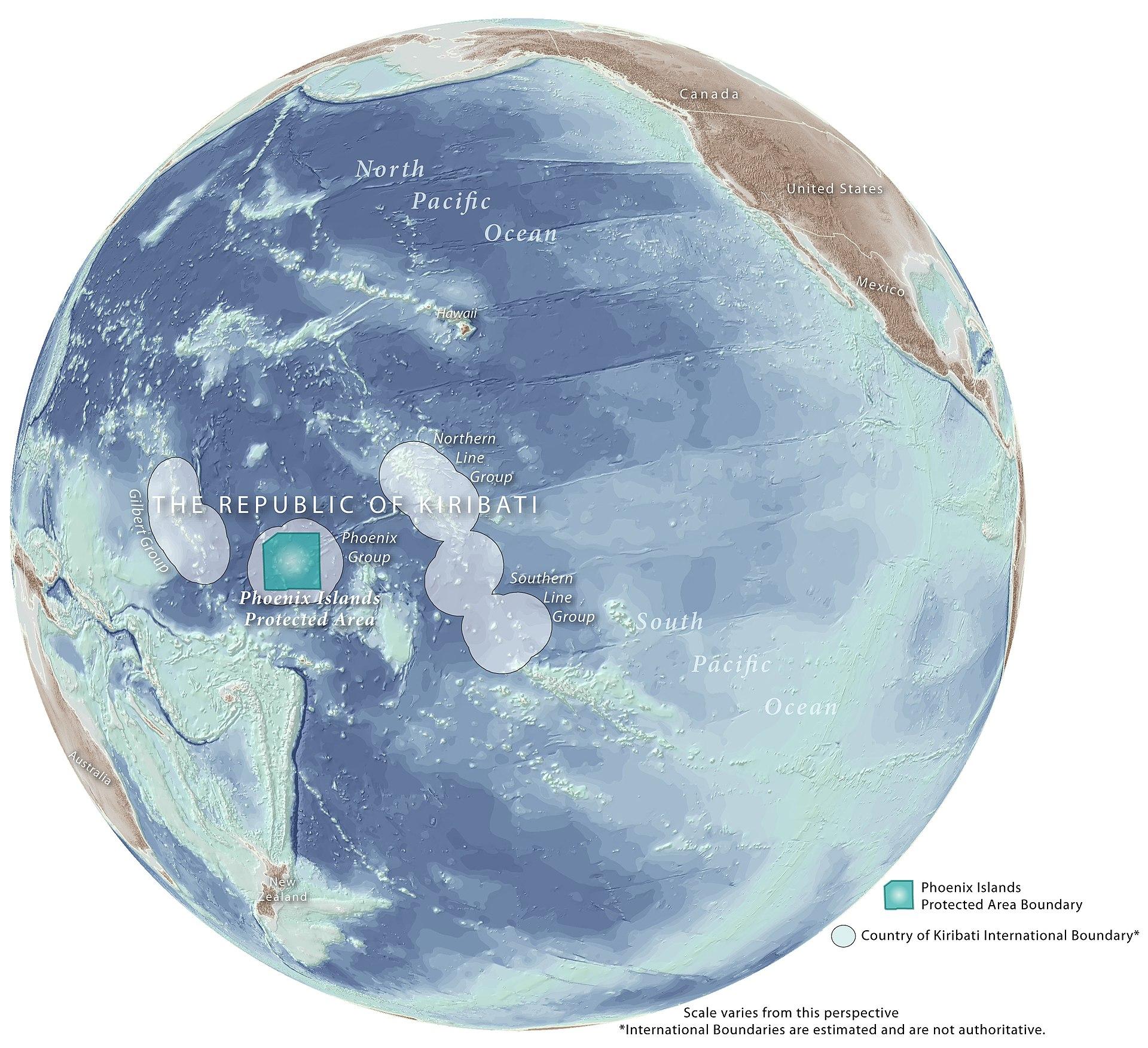 Phoenix Islands Protected Area - Wikipedia