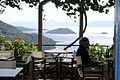 Glossa. Drinking and dining with a view in one of the local cafés 12 002.JPG