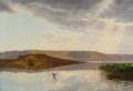 Godfred Christensen - Landskabsparti fra Himmelbjerget - 1901.png