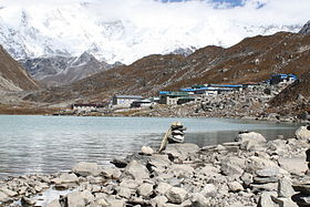 Gokyo village and Lake Dudh Pokhari.jpg