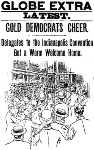"John M. Palmer (politician) - The National ""Gold"" Democratic Convention"