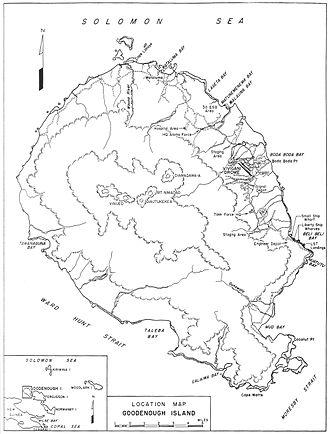 Battle of Goodenough Island - Image: Goodenough Island