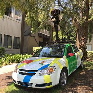 Google Maps - Google Maps Car at Googleplex, San Jose
