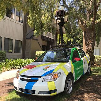 Google Maps - Google Maps Car at Googleplex, San Jose