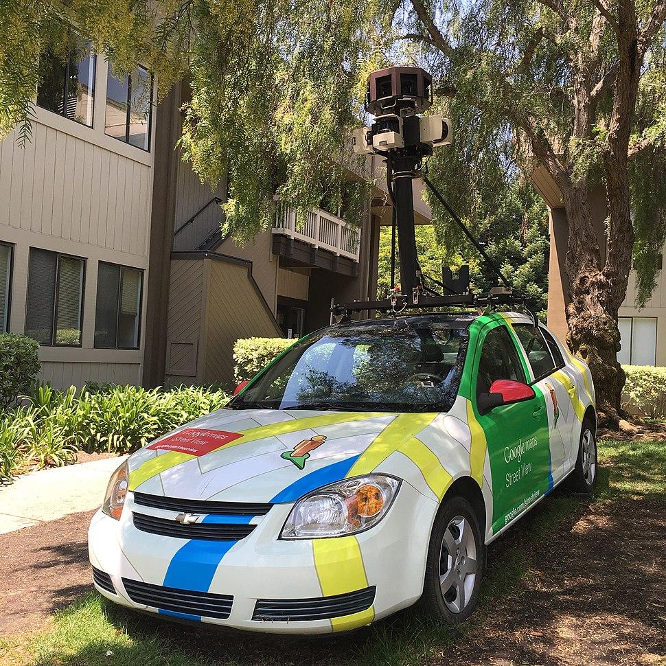 Google Maps Car at Googleplex