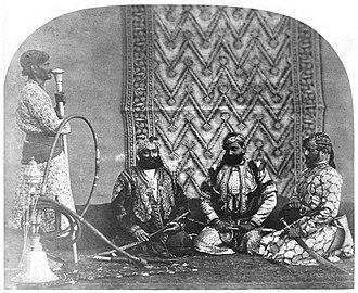 Gurjar - Image: Goojur Sirdars of Rajpootana