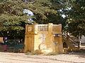 Gorée - Kiosque, Place du Gouvernement.JPG