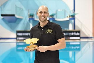 Goran Čolak Croatian free-diver and world record holder