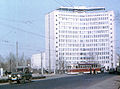 Gorky City. RVZ-6 tram near Gorky Railroad Company Office.jpg