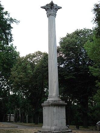 Victory column - The Column of the Goths in Gülhane Park