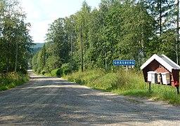 Östra indkørsel til Gräsberg, 2014