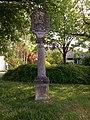 Grünsfeld Kulturdenkmal Laistraße Bildstock Weltgericht - 1.jpg