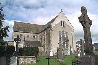 Duiske Abbey - Choir window as seen from South East
