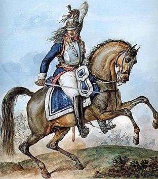 Grande Armée - 10th Regiment of Cuirassiers - Colonel