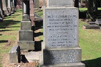 John Pringle Nichol - grave of John Pringle Nichol, Grange Cemetery, Edinburgh