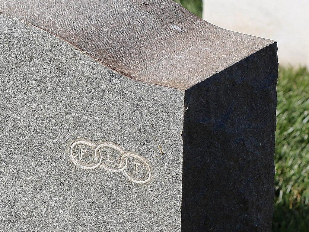 Filegravestone With Symbol Of The Freemasonry Independent Order Of