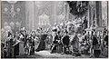 """Gravure représentant le tableau de François Gérard, """"Le sacre de Charles X à Reims, le 29 mai 1825"""" 1 - Archives Nationales - AE-II-3886.jpg"""