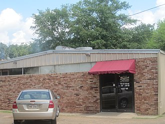 Clarence, Louisiana - Grayson Barbeque in Clarence, with a smokehouse, draws clientele from beyond the village because of its regional reputation and location on U.S. Highway 71 near the intersection with U.S. Highway 84.