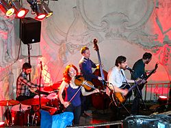Great Lake Swimmers, Hamburg, April 2012.jpg