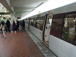 Greenbelt station with train.jpg
