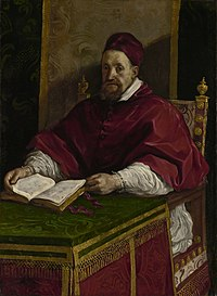 Portrait by Guercino