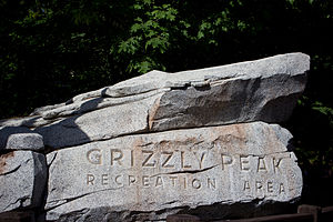 Grizzly River Run - Grizzly Peak is designed as an early 20th-century California state park.