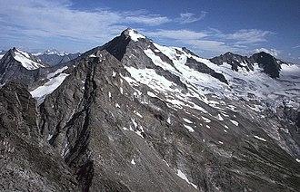 Zillertal Alps - Image: Grosser Loeffler HQ