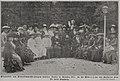 Gruppenbild vom Frauenstimmrechts-Kongress deutscher Frauen in München 1912. In der Mitte (X) die erste Vorsitzende Frau Dr. Anita Augspurg.jpg