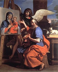 Guercino - St Luke Displaying a Painting of the Virgin - WGA10948.jpg