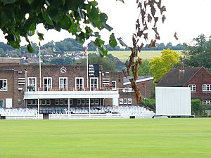 Sports Ground, Woodbridge Road, Guildford - Image: Guildford Cricket Club geograph.org.uk 934837