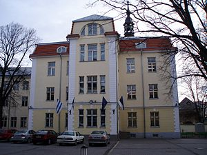 Gustavus Adolphus of Sweden - Gustav Adolf Grammar School in Tallinn, 2007