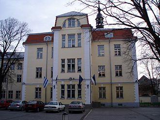Gustavus Adolphus of Sweden - Gustav Adolf Grammar School in Tallinn, 2007