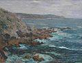 Gustave Loiseau Rochers dominant la mer en Bretagne.jpg