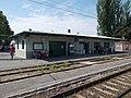 Gyártelep HÉV-állomás, állomásépület, 2019 Szigetszentmiklós.jpg