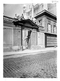 Hôtel de Chantosme,Hôtel de Brancas - Façade sur rue, portail - Paris 06 - Médiathèque de l'architecture et du patrimoine - APMH00037582.jpg