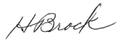 H. Brock signature.png